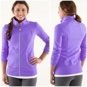 Lululemon Contempo Jacket Power Purple